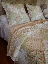 Couvre lit en boutis grandes tailles et boutis