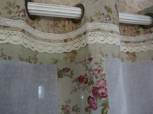 rideaux charme d 39 autrefois couleur blanc. Black Bedroom Furniture Sets. Home Design Ideas