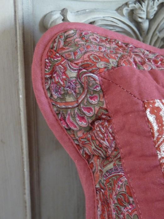 couvre lit patchwork rouge boutis patchwork rouge lin 180/240 cm couvre lit patchwork rouge